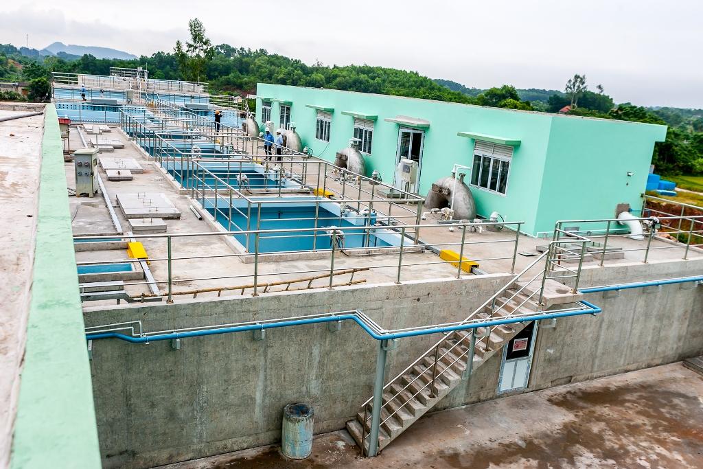 Toàn cảnh nhà máy nước Yên Bình giai đoạn 1